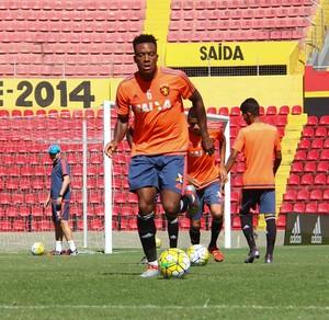 Rodney Wallace Sport (Foto: Williams Aguiar/Sport Club do Recife)
