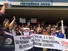 Servidores protestam em Alagoas contra mudanças na Previdência