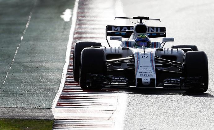 Felipe Massa, pré-temporada, Williams F1 (Foto: Reprodução)
