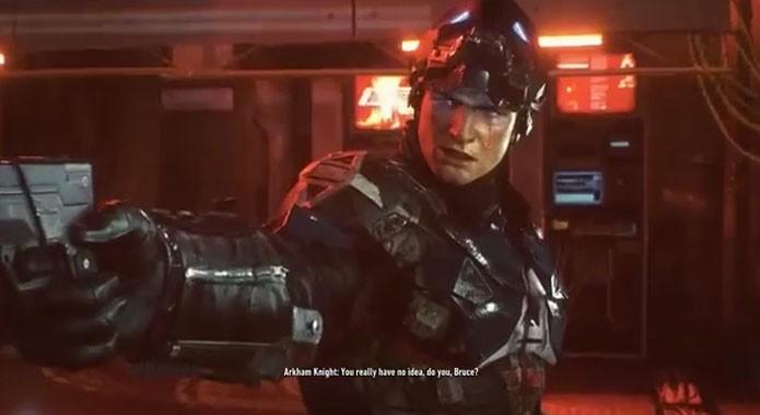 Jason Todd é revelado como o Arkham Knight (Foto: Reprodução/Felipe Vinha)