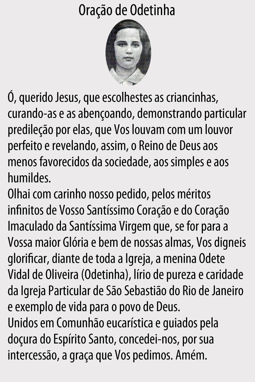 Oração de Odetinha (Foto: Rede Globo)