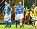 Napoli vence o Palermo fora de casa e dorme em segundo lugar na tabela
