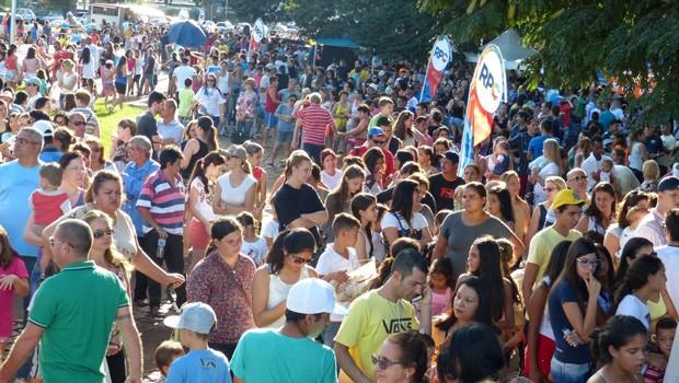 Londrina se divertiu com o RPC na Praça, neste sábado (25) (Foto: Divulgação/RPC)