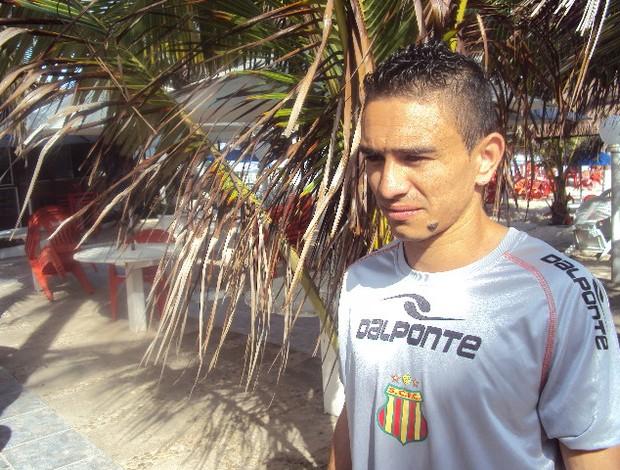 Pimentinha caiu nas graças da torcida Tricolor com atuações em 2012 (Foto: Afonso Diniz/Globoesporte.com)
