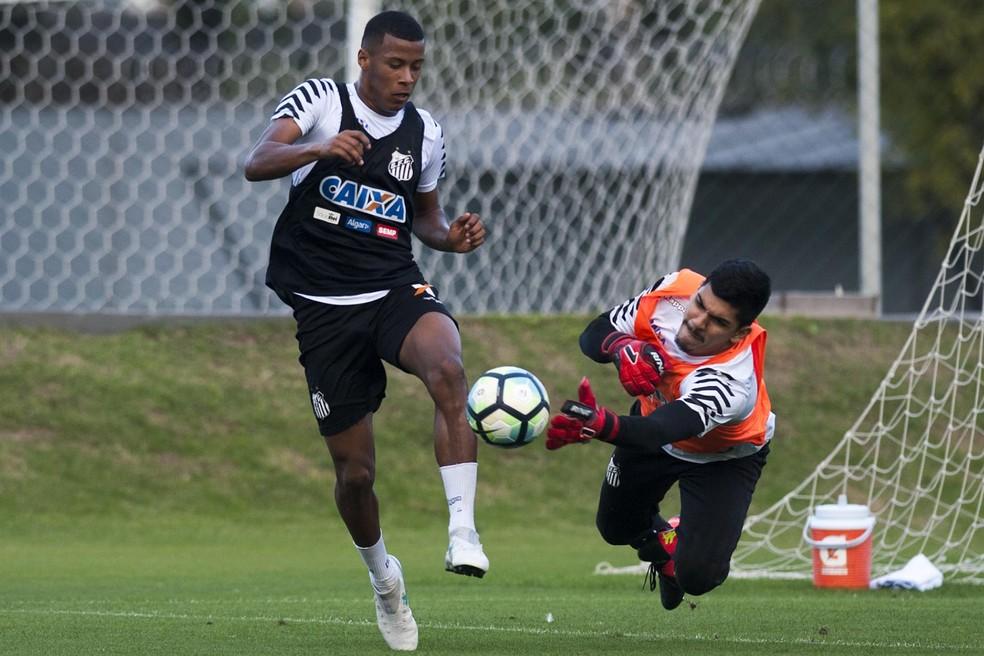 João Paulo será o titular do Peixe (Foto: Ivan Storti/Santos FC)