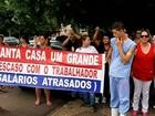 Funcionários da Santa Casa fazem paralisação em Fernandópolis