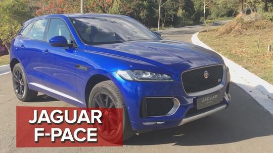Jaguar F-Pace: primeiras impressões