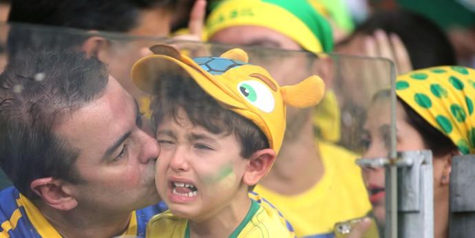 Torcida Brasil Mineirão (Foto: Eduardo Nicolau / Agência estado)