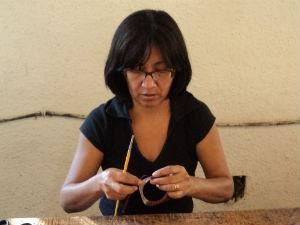 Presidente da Associação Amor Peixe, Joana Ferreira (Foto: Arquivo Pessoal)