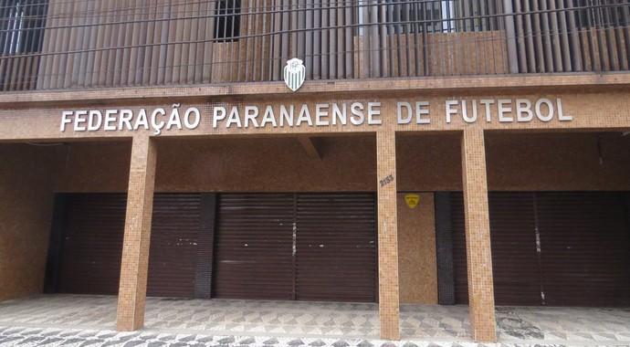 Federação Paranaense de Futebol (Foto: Fernando Freire)
