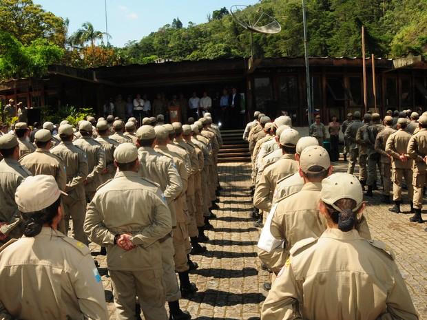 Corporação comemorou o 58º aniversário da Academia. (Foto: Divulgação/Estela Siqueira)
