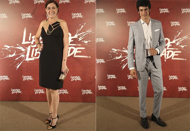 Lilia Cabral é Virginia e Mateus Solano é José Maria Rubião (Foto: Reprodução/Rede Globo)