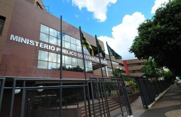 Suspeitos de envolvimento em fraudes serão levados para sede do MP-GO, em Goiânia, Goiás (Foto: Reprodução/MP-GO)