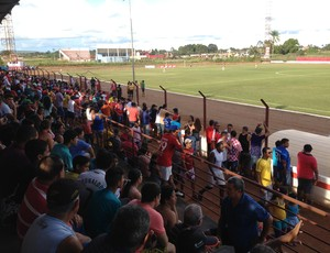 Estádio João Saldanha, jogo entre Guajará e Genus (Foto: Dayanne Saldanha)