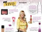 Iris Stefanelli lista seus dez produtos de beleza preferidos