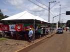 Funcionários da BRF Brasil entram em greve no sudoeste do Paraná