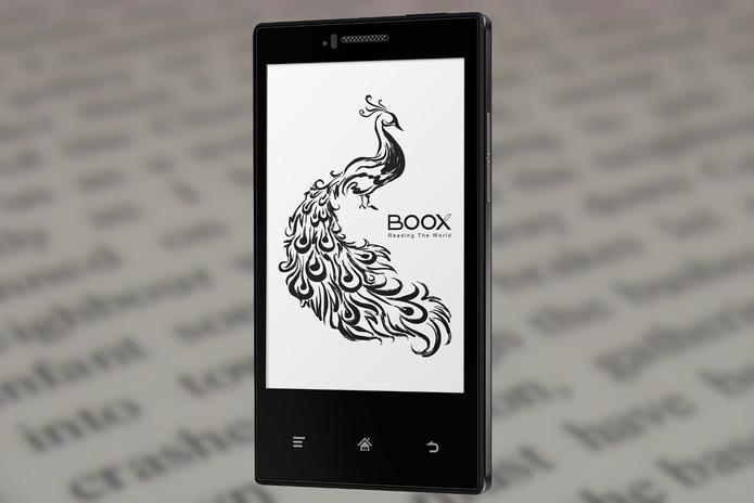Midia InkPhone é smart Android com tela de e-reader (Foto: Divulgação)