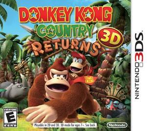 Capa de 'Donkey Kong Country Returns 3D' (Foto: Divulgação/Nintendo)