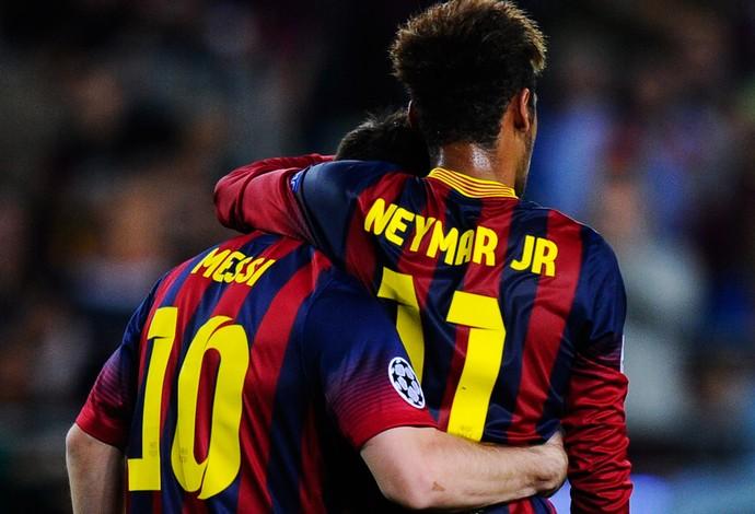 Barcelona Neymar e Messi (Foto: Getty Images)