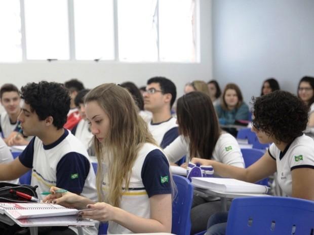 9a1090011d9 Unidade de Santos do Objetivo obteve melhor resultado na região (Foto   Divulgação Colégio