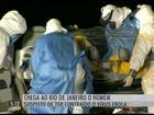 Brasileiro com suspeita de estar com o vírus ebola está internado no RJ