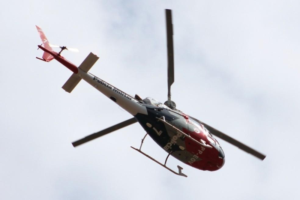 Operação conta com o apoio do Águia (Foto: ACidadeOn/Araraquara)