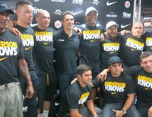 Equipe Anderson Silva (Foto: Adriano Albuquerque)