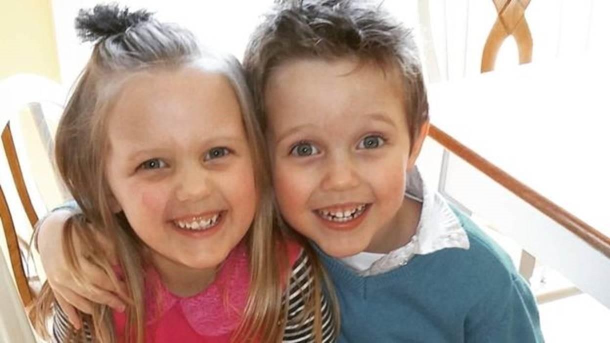 Abel e Belle acabaram de fazer cinco anos  (Foto: BBC)