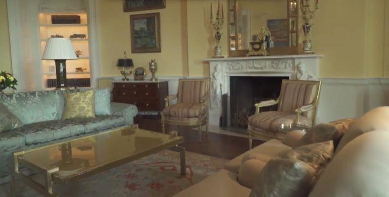 decoração-casa-branca-obama (Foto: Reprodução/Youtube)