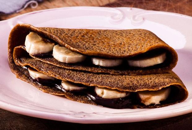 Versátil, crepe também pode ser recheado com seus ingredientes favoritos (Foto: Divulgação)
