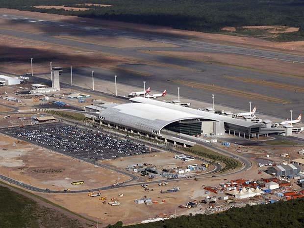 Novo aeroporto do RN começou a funcionar neste sábado (31) (Foto: Canindé Soares)