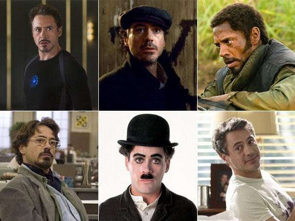 Robert Downey Jr. em: (Foto: Divulgação)