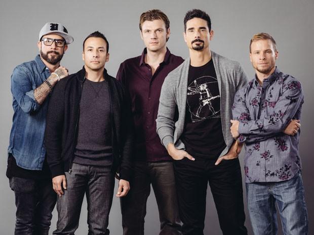 Boyband americana vai relembrar grandes sucessos dos anos 1990 na turnê brasileira (Foto: Divulgação / Backstreet Boys)