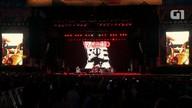 Rancid abre show com 'Radio'