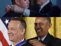 Tom Hanks revive cena de 'Forrest Gump' ao ganhar medalha de Obama