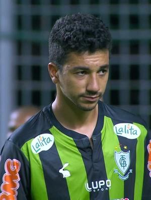 Renan Oliveira, meia América-MG (Foto: Reprodução\ Sportv)