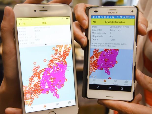 Agência meteorológica nacional havia enviado o alerta por erro (Foto: Toru Yamanaka/AFP)