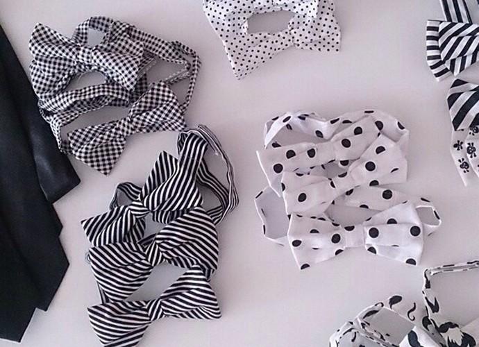 Participante tem pelo menos 20 gravatas-borboleta (Foto: Arquivo pessoal)