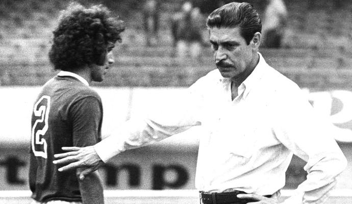 Oswaldo Brandão técnico do Palmeiras 1976 (Foto: Arquivo / Agência Estado)