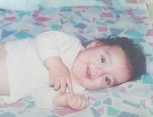 Wagner Barreto não era um bebê fofo? Na foto, ele tem quatro meses (Foto: Arquivo pessoal)