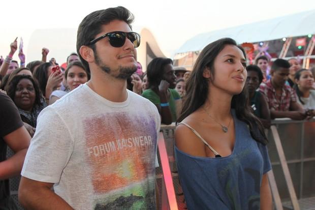 Bruno Gissoni e Yanna Lavigne (Foto: Roberto Filho/Agnews)