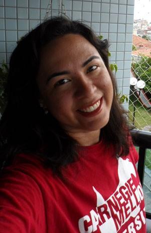 Lea Veras, personagem de matéria sobre visto americano. (Foto: Arquivo pessoal)