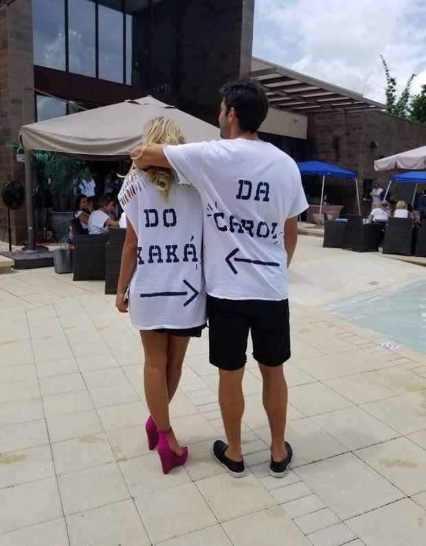Kaká e Carol  (Foto: Reprodução)
