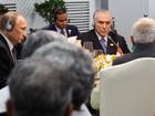 Temer diz em eventos dos Brics que economia do país está se recuperando