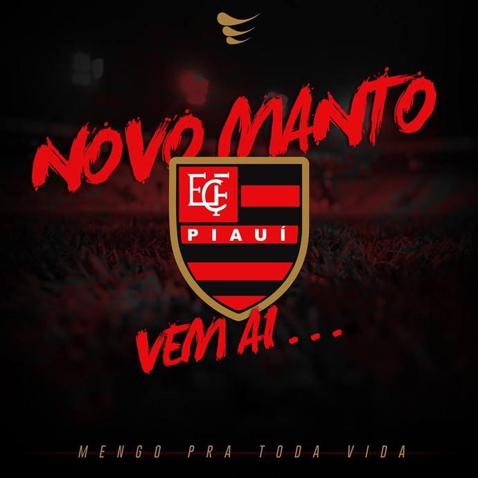 Uniforme Flamengo-PI (Foto: Divulgação/Super Bolla)