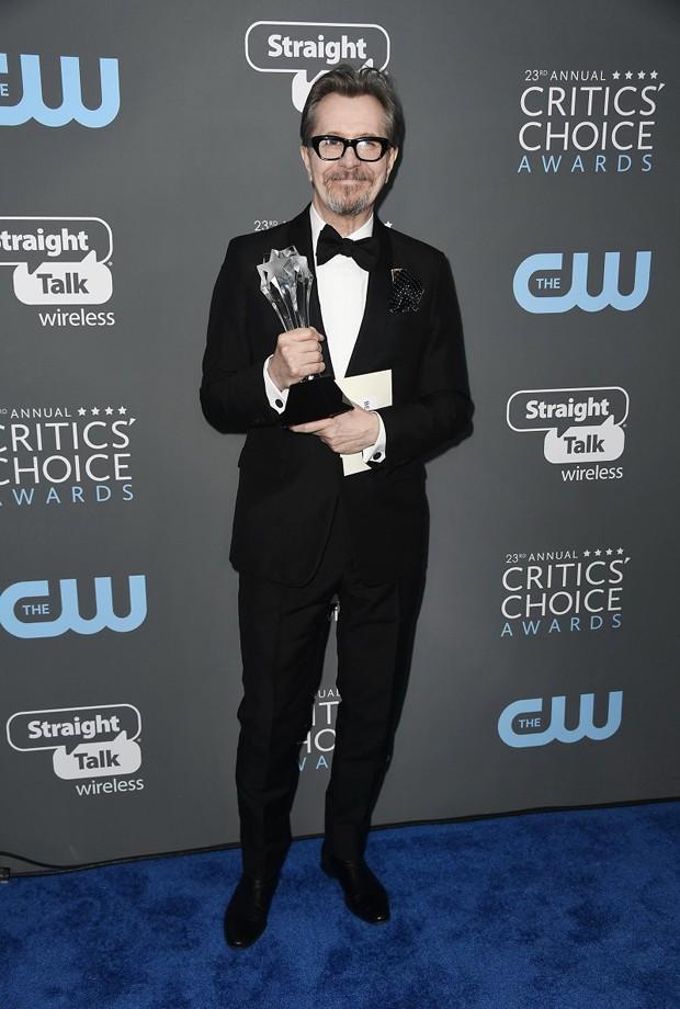 Gary Oldman de Prada (Foto: Getty Images)