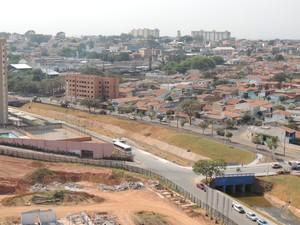 Urbanização das margens do Córrego Belchior em Indaiatuba (Foto: Eliandro Figueira/ACS-PMI)