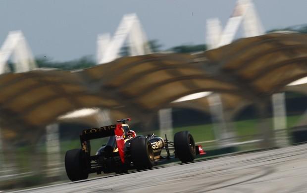 Kimi Raikkonen no treino na Malásia (Foto: Getty)