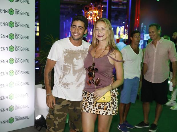 Pedro Scooby e Luana Piovani em festa no Centro do Rio (Foto: Felipe Panfili/ Divulgação)