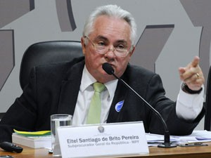 O procurador da República Eitel Santiago